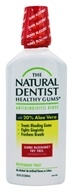 Natural Dentist - Healthy Gums Moisturizing Antigingivitis Rinse Peppermint Twist - 16.9 oz.
