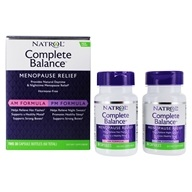 Image of Natrol - Complete Balance Menopause AM and PM - 60 Capsules