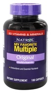 Natrol - My Favorite Multiple Original Multivitamin - 180 Capsules by Natrol