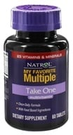 Natrol - My Favorite Take One Multiple - 60 Tablets - $11