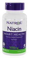 Natrol - Niacin TR Time Release Flush-Free 500 mg. - 100 Tablets