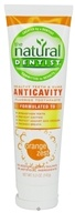 Image of Natural Dentist - Healthy Teeth & Gums Anticavity Flouride Toothpaste Orange Zest Flavor - 5 oz. LUCKY DEAL