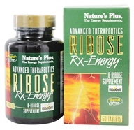 Nature's Plus - Ribose Rx Energy - 60 Tablets - $44.70