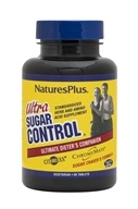 Nature's Plus - Ultra Sugar Control - 60 Tablets - $19.75