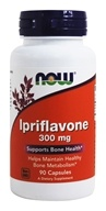 Image of NOW Foods - Ipriflavone 300 mg. - 90 Capsules