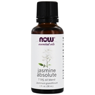 Image of NOW Foods - Jasmine Absolute 7.5 Pct Oil - 1 oz.
