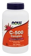 NOW Foods - C-500 Complex - 250 Tablets - $10.49