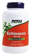 NOW Foods - Echinacea (Purpurea Root) 400 mg. - 250 Capsules by NOW Foods