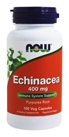Image of NOW Foods - Echinacea (Purpurea Root) 400 mg. - 100 Capsules