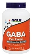 NOW Foods - Gaba 100% Pure Powder - 6 oz.