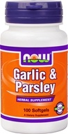 NOW Foods - Garlic and Parsley - 100 Gelcaps