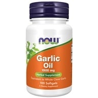 NOW Foods - Garlic Oil 1500 mg. - 100 Softgels - $3.59