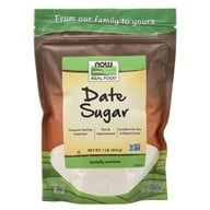 NOW Foods - Date Sugar - 1 lb. (733739069207)
