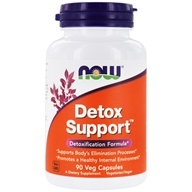 NOW Foods - Detox Support - 90 Capsules, from category: Detoxification & Cleansing