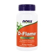 Image of NOW Foods - D-Flame - 90 Vegetarian Capsules