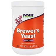 NOW Foods - Brewer's Yeast Debittered - 1 lb. (733739024206)