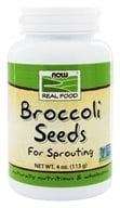 NOW Foods - Broccoli Seeds - 4 oz., from category: Health Foods