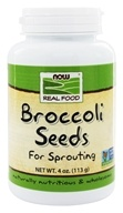 NOW Foods - Broccoli Seeds - 4 oz. (733739072153)
