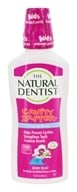 Natural Dentist - Cavity Zapper Fluoride Rinse Berry Blast Flavor - 16.9 oz. Formerly Healthy Teeth Natural Fluoride Rinse for Brace (714132000905)