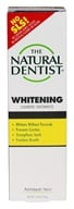 Image of Natural Dentist - Healthy Teeth & Gums Whitening Anticavity Toothpaste Peppermint Twist - 5 oz.