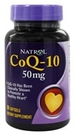 Natrol - CoQ-10 50 mg. - 60 Softgels (047469002855)