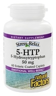 Image of Natural Factors - Stress-Relax 5-HTP 50 mg. - 60 Capsules