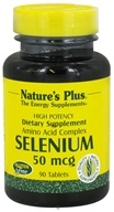 Nature's Plus - Selenium 50 mcg. - 90 Tablets