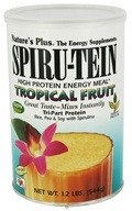 Nature's Plus - Spiru-Tein High Protein Energy Meal Tropical Fruit - 1.2 lbs. - $20.36