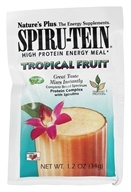 Image of Nature's Plus - Spiru-Tein High Protein Energy Meal Tropical Fruit - 1 Packet