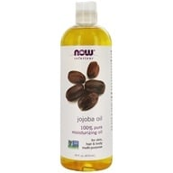 Image of NOW Foods - Jojoba Oil Pure - 16 oz.