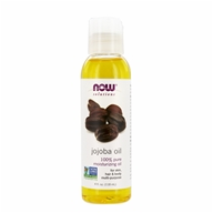 Image of NOW Foods - Jojoba Oil Pure - 4 oz.