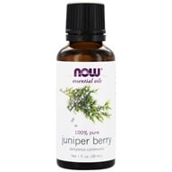 NOW Foods - Juniper Berry Oil - 1 oz.