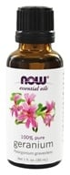 Image of NOW Foods - Geranium Oil Egyptian - 1 oz.