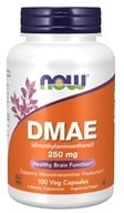 NOW Foods - DMAE 250 mg. - 100 Vegetarian Capsules