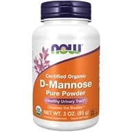 NOW Foods - D-Mannose Powder - 3 oz. (733739028105)