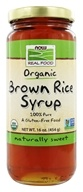 NOW Foods - Brown Rice Syrup Organic - 16 oz. (733739069078)