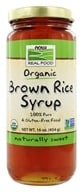NOW Foods - Brown Rice Syrup Organic - 16 oz. - $5.19