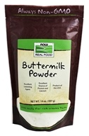 NOW Foods - Buttermilk Powder - 14 oz.