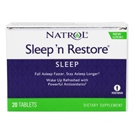 Natrol - Sleep N Restore - 20 Tablets, from category: Nutritional Supplements