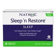 Natrol - Sleep N Restore - 20 Tablets