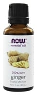 Image of NOW Foods - Ginger Oil - 1 oz.