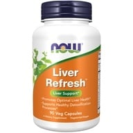 Image of NOW Foods - Liver Detoxifier and Regenerator - 90 Capsules