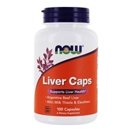 Image of NOW Foods - Liver Extract Caps - 100 Capsules