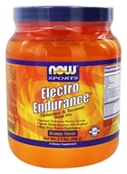 NOW Foods - Electro Endurance Drink Mix Orange Flavor - 2.2 lbs. Formerly ElectroPro, from category: Sports Nutrition