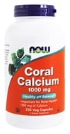 NOW Foods - Coral Calcium 1000 mg. - 250 Vegetarian Capsules, from category: Vitamins & Minerals