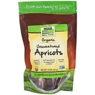 Image of NOW Foods - Certified Organic Dried Apricots - 1 lb.