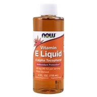 Image of NOW Foods - E Liquid d-alpha Tocopherol 54600 IU - 4 oz.