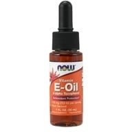 NOW Foods - E-Oil Double Strength d-alpha Tocopherol 32000 IU - 1 oz.