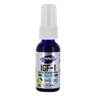 Image of NOW Foods - IGF-1 Plus Lipospray Deer Antler Velvet Extract - 1 oz.