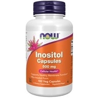 NOW Foods - Inositol 500 mg. - 100 Capsules